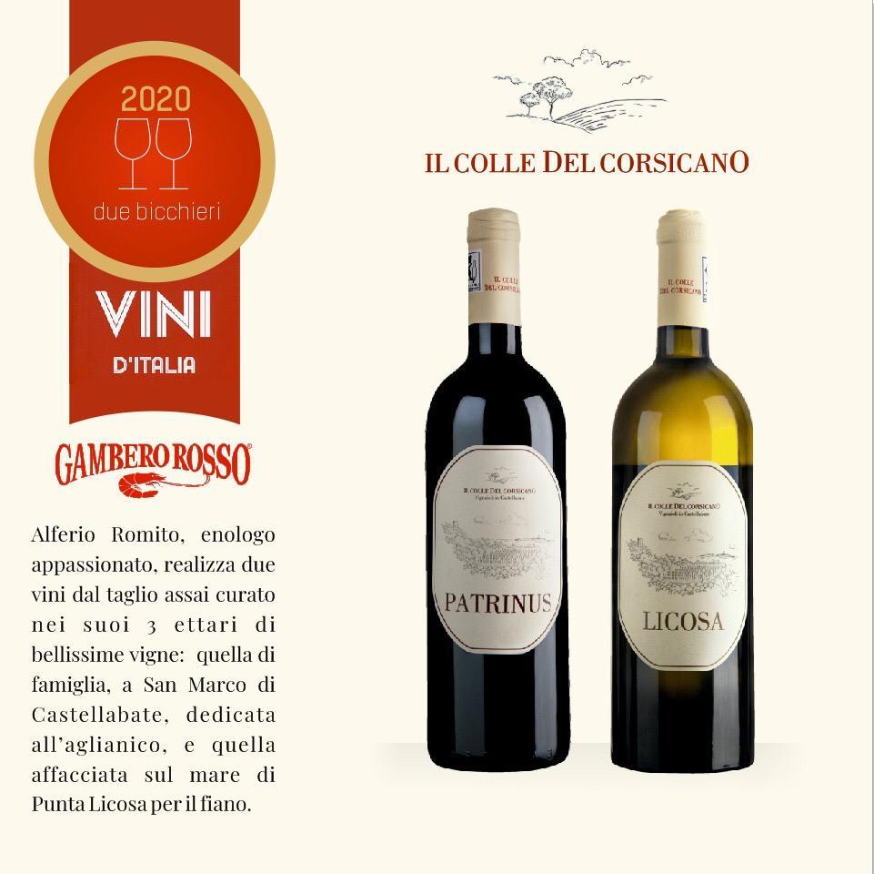 gambero rosso il colle del corsicano vini
