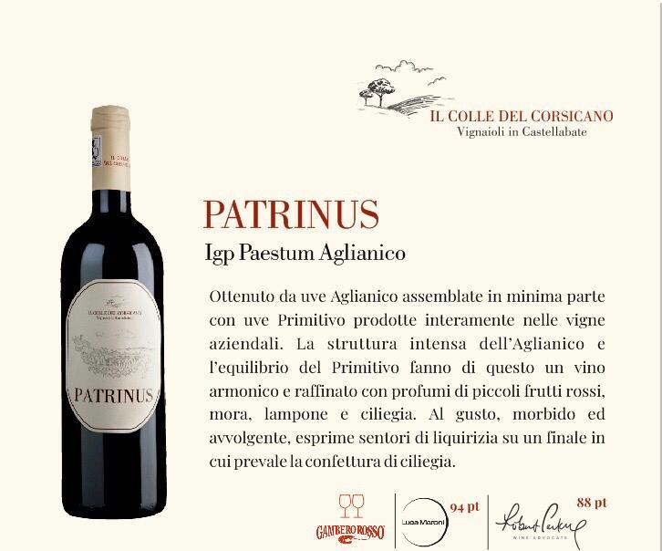 punteggi patrinus
