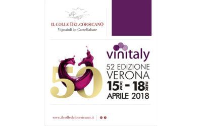 Il Colle del Corsicano al Vinitaly 2018